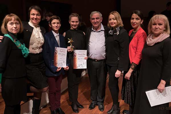 Успехи резекненцев на конкурсе молодых исполнителей