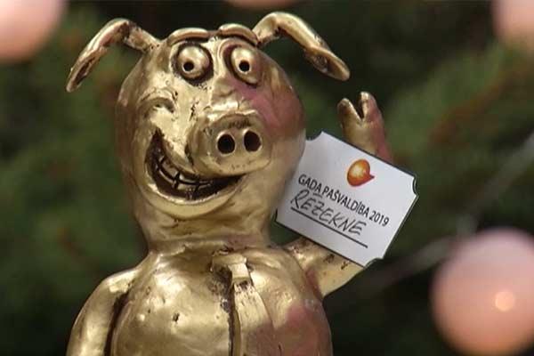 Резекненская дума получила приз – «Синью» за скандал года