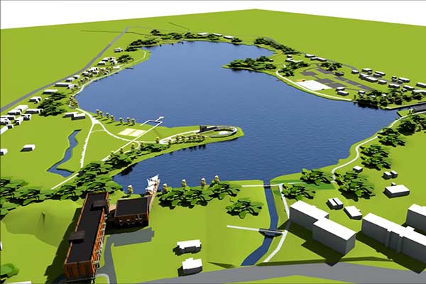 Парка вокруг озера Ковшу, пока, не будет