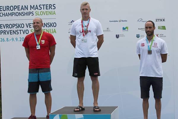 Резекненский пловец стал чемпионом Европы