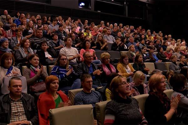 """В Резекне состоялся показ нового латышского фильма """"Homo Novus"""""""
