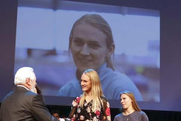 Гунта Вайчуле с личным рекордом победила в Швеции