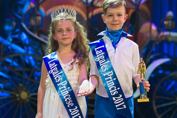Названы обладатели титулов проекта «Принц и Принцесса Латгалии 2017»