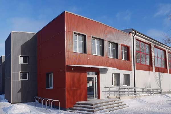 Обновленное здание резекненского управления спортом сдано в эксплуатацию