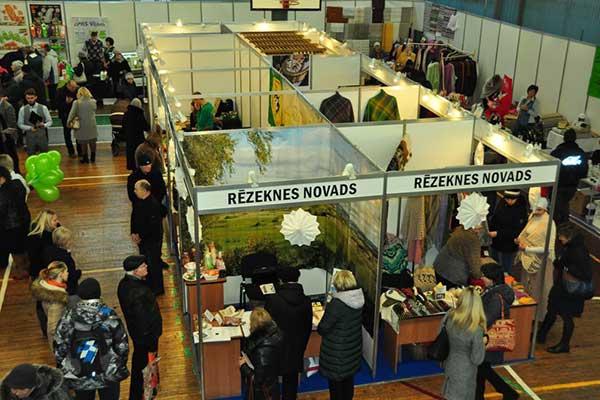 ВИДЕО: Предприниматели Резекненского края встретились на выставке
