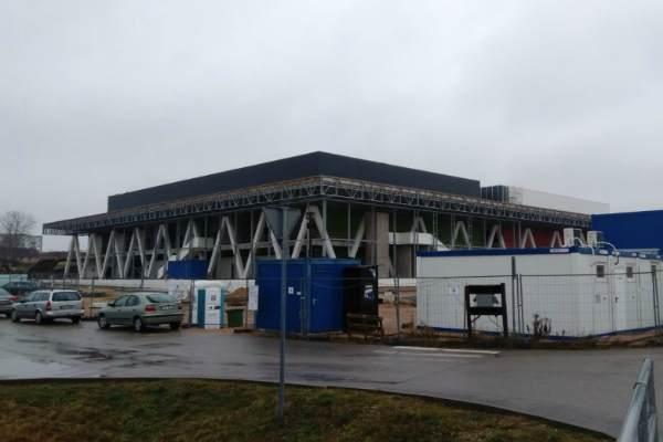Пока деньги на строительство Олимпийского центра в Резекне есть, но мало