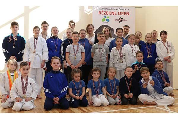Клуб SAKURA провел первый международные соревнования по каратэ в Резекне
