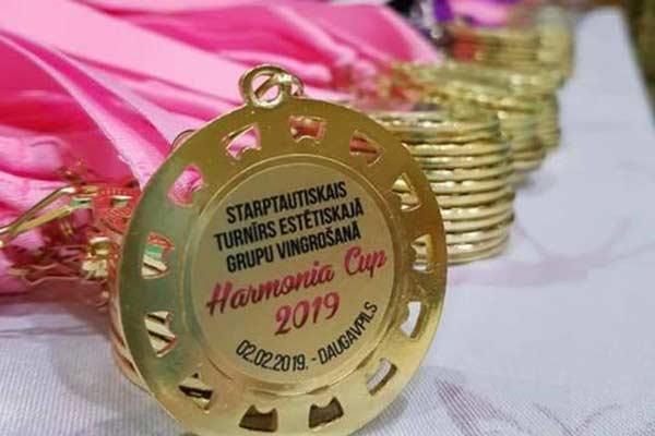 Гимнастки из Резекне отлично выступили на международных соревнованиях