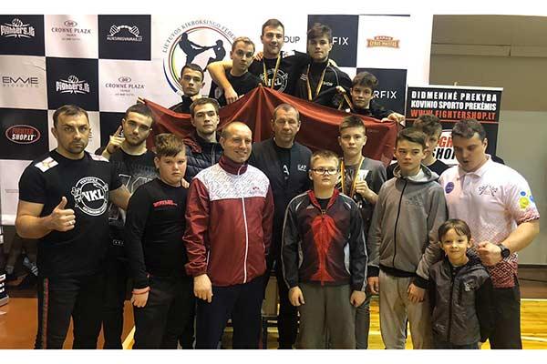 Резекненские кикбоксёры показали хорошие результаты на соревнованиях в Литве