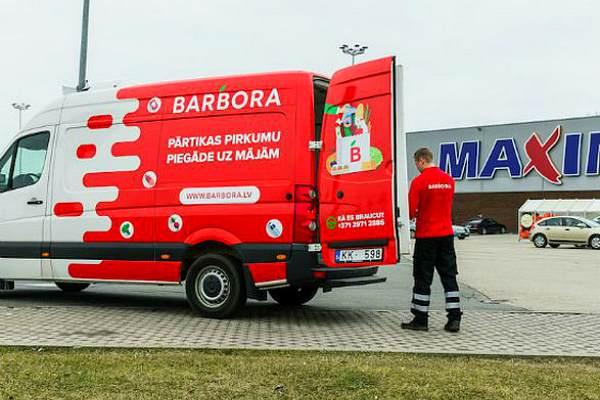 """""""Barbora.lv"""" с сегодняшнего дня предлагает заказ продуктов через интернет и в Латгале"""