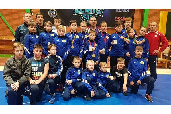 Резекненские борцы успешно выступили на соревнованиях в Литве