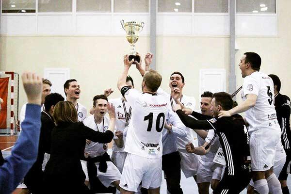 «TFK Rēzekne» в тройке сильнейших футзальных команд страны