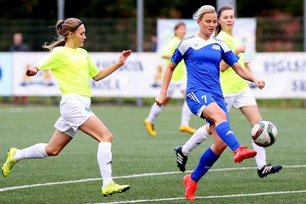 В субботу пройдет финал розыгрыша кубка Латвии по женскому футболу