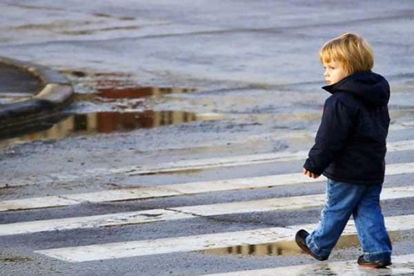 Как ребенку перейти дорогу возле 5-й школы?