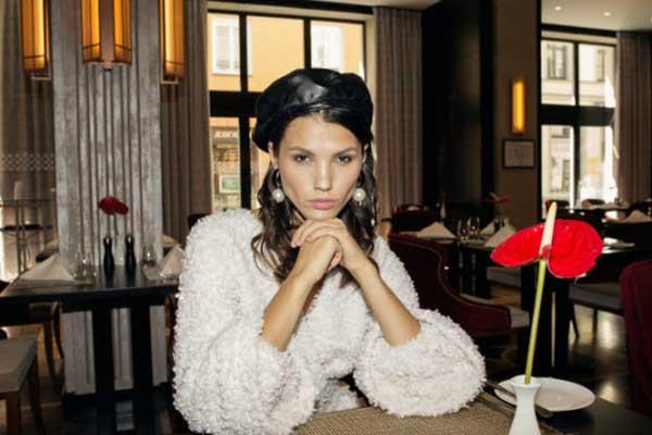 Резекненка стала лицом коллекции модного бренда