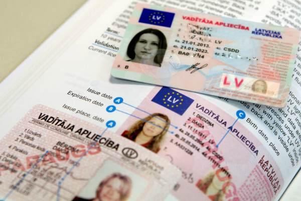 В Резекне торговали водительскими удостоверениями