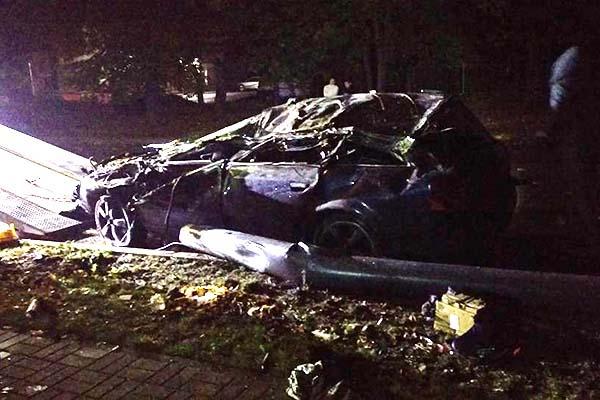 Молодой водитель не справился с управлением - двое пострадавших